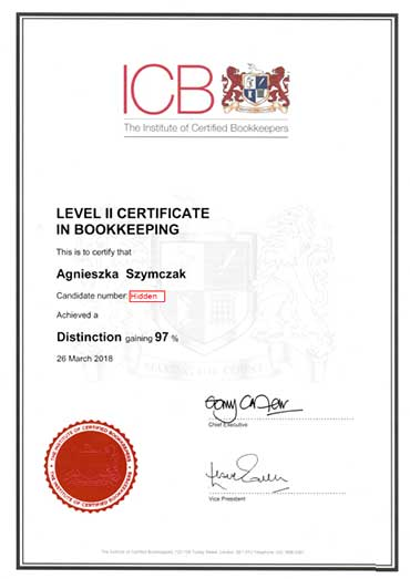 ICB Level II Certificate