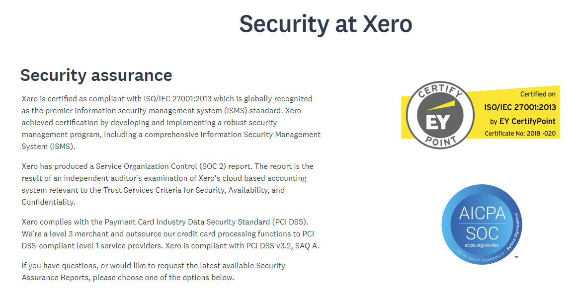 Enjoy Maximum Privacy And Security with Xero Accounting Software